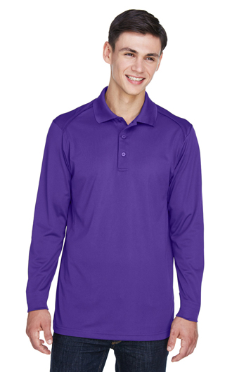 Extreme Men's Eperformance Snag Protection Long-Sleeve Polo - Em