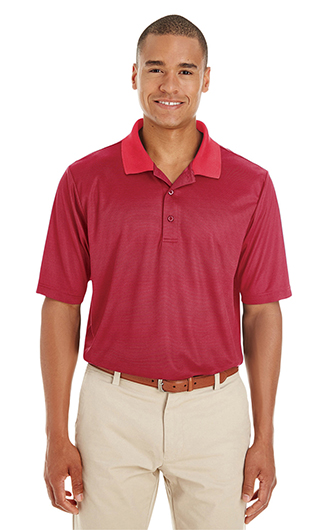 Core 365 Men's Express Microstripe Performance Piqu� Polo
