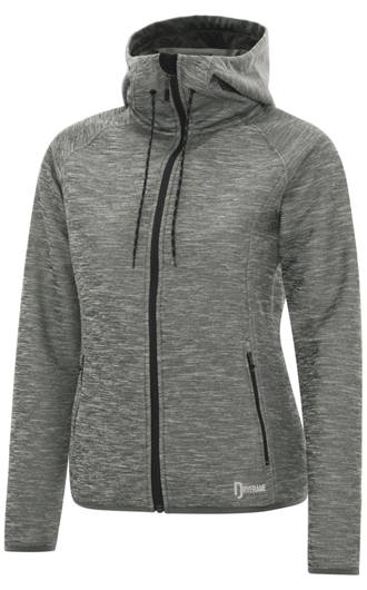 Dryframe Dry Tech Fleece Full Zip Hooded Ladies' Jacket