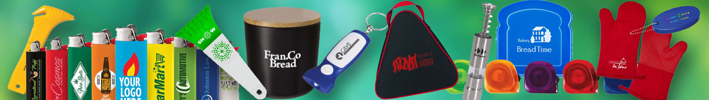 Corporate gifts and advertising specialties from rushIMPRINT Canada
