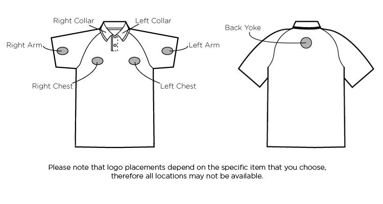 Imprinted Polo Shirts 16252 Moreno Text Micro Polo